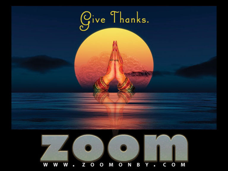 Zoom Give Thanks! ©zoomonby.com