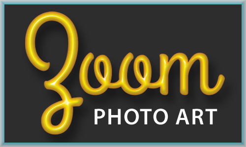 Zoom Photo Art Logo