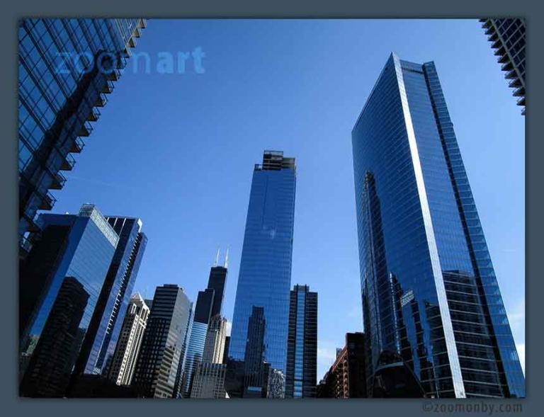 Chicago Skyline ©zoomonby.com